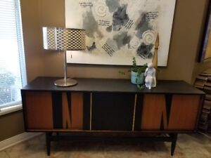 MID CENTURY SIDEBOARD / CREDENZA UPCYCLED