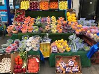 Shop to let, business, fruit stall