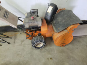 Large size snow blower for sale.. 60$ obo.. read full ad please
