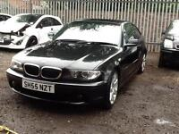 BMW 320 2.0TD 2005 Cd ES COUPE STUNNING BLACK VERY NICE EXAMPLE