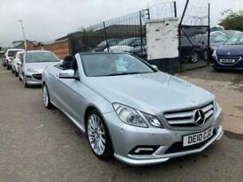 image for 2010 Mercedes-Benz E Class E250 CDI BlueEFFICIENCY Sport 2dr Tip Auto CONVERTIBL