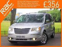 2008 Chrysler Grand Voyager 2.8 CRD Turbo Diesel Limited Ltd 7-Seater MPV 6 Spee