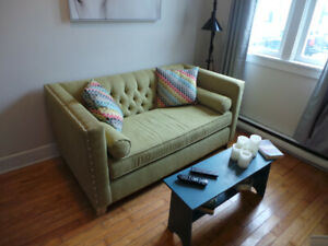 Fully furnished downtown all-inclusive two-bedroom home