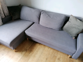 Corner sofa bed with storage delivery available today