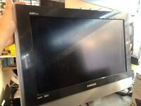 Samsung 22 inch TVs with 2 month warranty