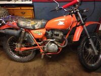 Seeking 1977 Honda ct125 parts or repair