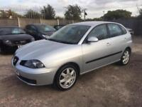 SEAT IBIZA 2005 1.4 MY SX PETROL - MANUAL - 1 LADY OWNER FROM NEW- LOW MILEAGE