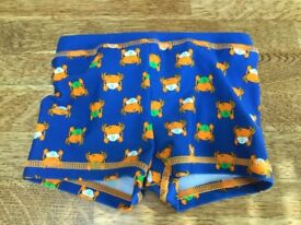 Worn Once Swimming Trunks 3-6 Months