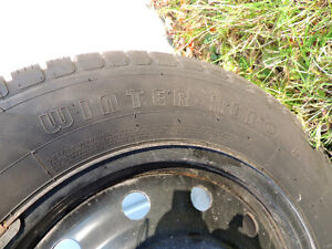 4 WINTER/SNOW TIRES for sale Kitchener / Waterloo Kitchener Area image 4