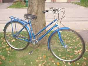 Raleigh Colt 3 Speed, Fenders, Rear Rack, New Cables/Tires.