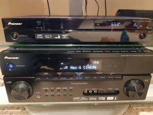 Pioneer REC, DVR, TV & HARMAN KARDON spekears