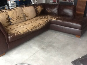 Large two piece sectional