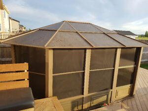 Gazebo  for sell or trade for swimming pool