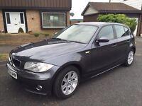 BMW 1 series 5 door gun metal grey