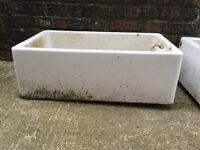 Old heavy pot sink