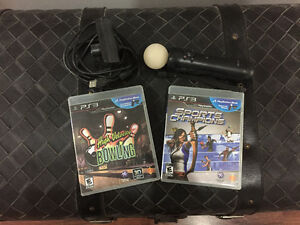 PS3 Move Bundle with 2 Move Games