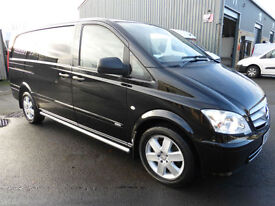 2012 Mercedes-Benz Vito 116 CDi SPORT LWB, LOW MILES, AIR CON, Full MERC History