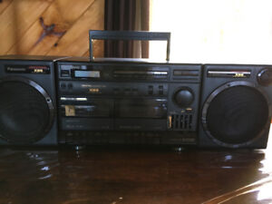 Panasonic Portable Stereo Component System XBS Extra Base System