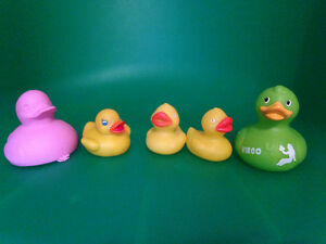 5 Rubber Duckies