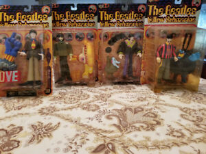 The Beatles, Yellow Submarine Collectible Figurines