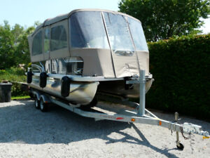 Ponton Princecraft sport fisher 21 2s 2016