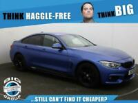 2016 BMW 4 Series 420D XDRIVE M SPORT GRAN COUPE Auto Coupe Diesel Automatic