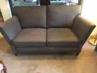 Grey 2 Seater Sofa - Exc Cond - CAN DELIVERY