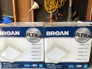 BROAN - Multi speed ventilation fan. Ultra silent
