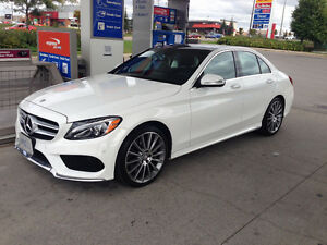0% APR - LOW PAYMENT - 2015 Mercedes-Benz c400 lease takeover