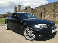 2011 11 BMW 118 2.0d M Sport *Cream Leather Heated Seats FSH*