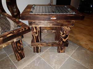 Heavy Duty Rustic Coffee Tables, End Tables And Stool