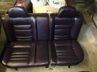 vw mk3 golf vr6 highline mulberry leather interior