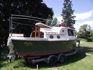 1995 Nimble Nomad 25' Pocket Trawler