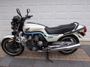 1982 CBX1000 - Pearl White (full fairings and bags)