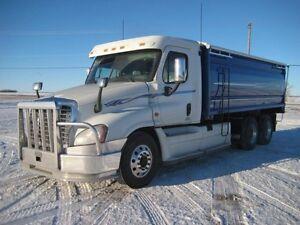 2009 Freightliner Cascadia, Used Grain Truck
