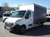 VAUXHALL MOVANO 2.3CDTI 125PS R3500 L3 DOUBLE CURTAIN SIDE 1 OWNER F/S/H