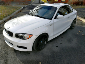 Bmw 135i M package 2008 white