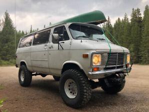 Offroad Vanlifer Overlander 4x4 Van