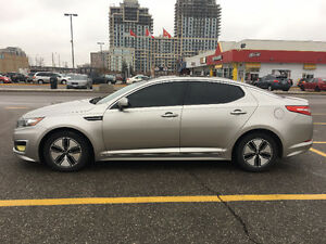 Impeccable 2012 Kia Optima Hybrid Premium Fully Loaded