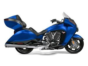 2016 Victory Vision Blue Fire