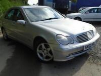 2002 52 MERCEDES-BENZ C CLASS 2.1 C220 CDI AVANTGARDE 4D AUTO 143 BHP DIESEL