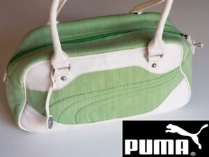 Puma Shoulder Hangbag light green fashionable sport bag