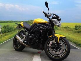 Triumph Speed Triple 94R ABS **ARROW LOY BOY AND 1600 MILES!**
