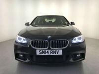 2014 BMW 520D M SPORT AUTOMATIC DIESEL SAT NAV SYSTEM 1 OWNER SERVICE HISTORY
