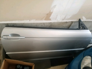 BMW E46 COUPE PASSENGER DOOR COMPLETE
