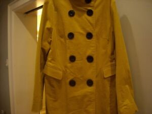 TRENDY NEW CORDOUROY COAT WITH STAND UP COLLAR