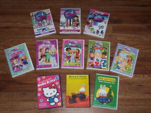 DVDS FOR GIRLS *ENGLISH ONLY*  $20 FOR ALL!