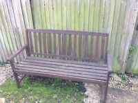 Twogarden benches £40 for the two