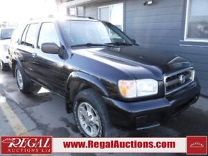 2004 NISSAN PATHFINDER CHINOOK EDITION 4D UTILITY 4WD CHINOOK ED