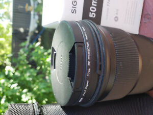 SIGMA ART  50mm Lens, F 1.4 for CANON